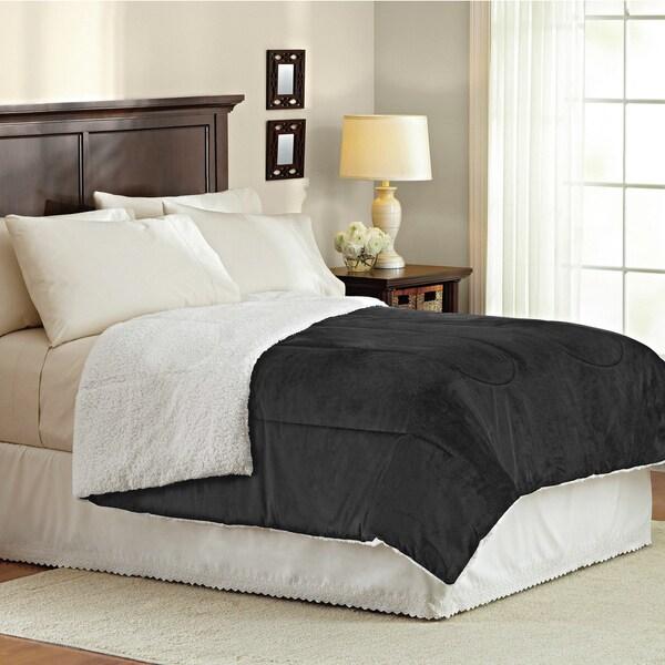 Mink Reverse to Sherpa Comforter