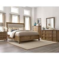 A.R.T. Furniture Pavilion Upholstered Sleigh Bed