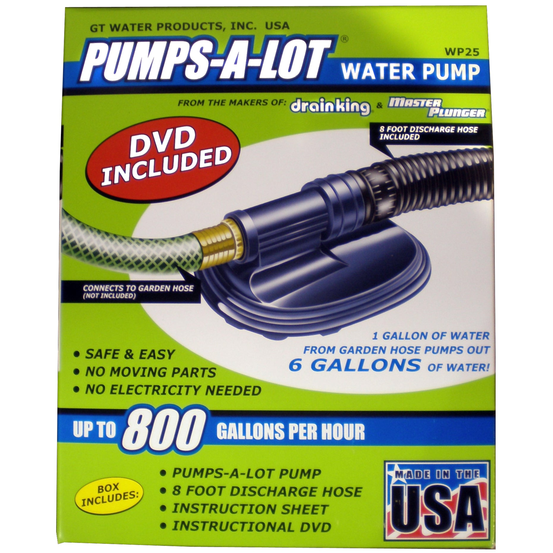 Ace Hardware Gt Water Products WP25 Pumps-A-Lot Water Pum...