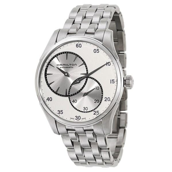 Hamilton Silvertone Stainless Steel Watch
