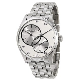 Hamilton Silvertone Stainless Steel Watch