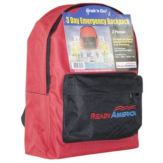 Ready America 70280 3 Day 2 Person Emergency Backpack