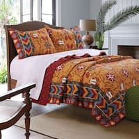 Greenland Home Fashions  Farrah 3-Piece Quilt Set