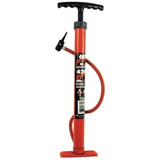 "Custom Accessories 57772 18"" Heavy Duty Tire Pump"