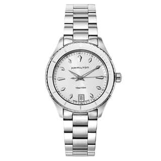 Hamilton Women's Jazzmaster Seaview Watch|https://ak1.ostkcdn.com/images/products/12916935/P19671669.jpg?impolicy=medium