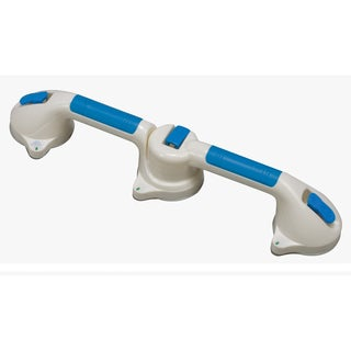 DMI Swivel Suction Cup 24-inch Grab Bar for Bath and Shower Safety