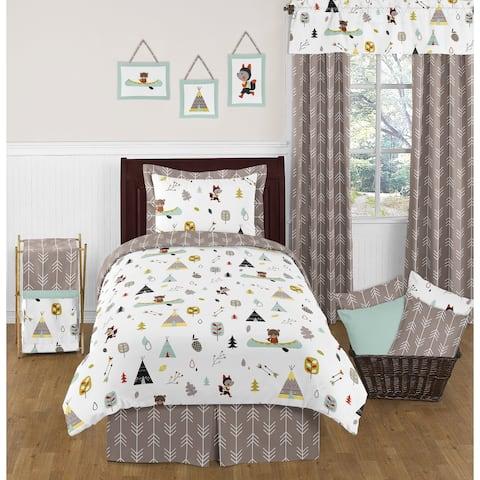 Sweet Jojo Designs Outdoor Adventure 4-piece Twin-size Comforter Set