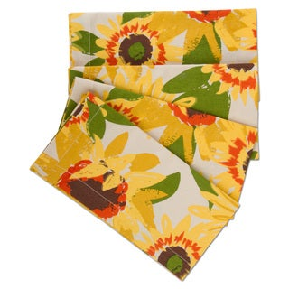 TAG Sunflower Napkin Set Of 4
