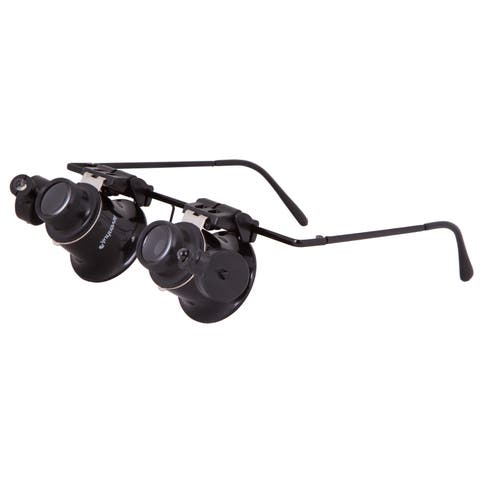 Levenhuk Zeno Vizor G2 Black Acrylic LED Magnifying Glasses
