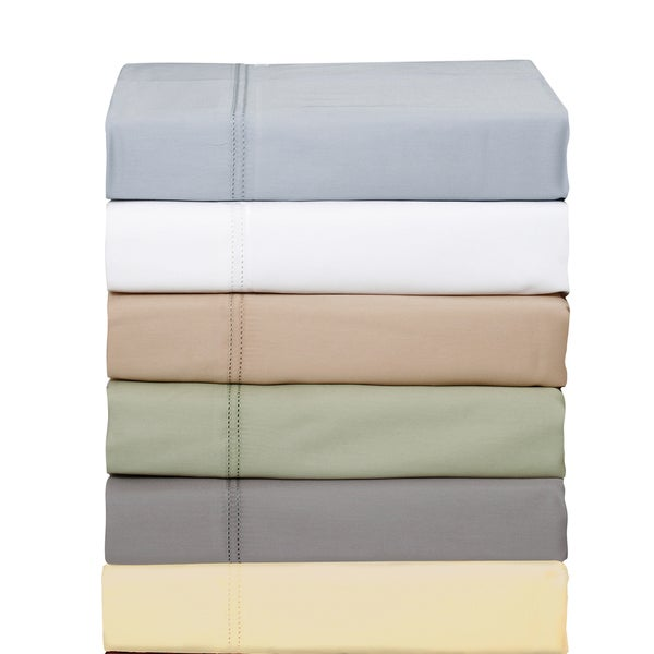 550 Thread Count Cotton Blend 2 Line Hem Sheet Set