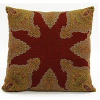 Neshaat Boiled Wool Throw Pillow