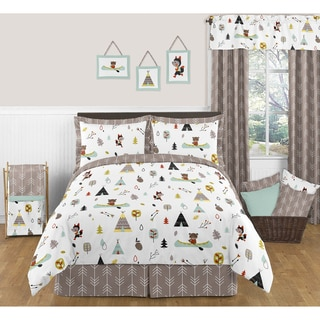 Link to Sweet Jojo Designs Outdoor Adventure 3-piece Full/ Queen-size Comforter Set Similar Items in Kids Comforter Sets