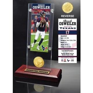 Brock Osweiler Ticket & Bronze Coin Ticket Acrylic