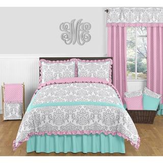 Link to Sweet Jojo Designs Skylar 3-piece Full/ Queen-size Comforter Set Similar Items in Kids Comforter Sets