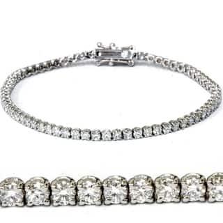 18k White Gold 3 ct TDW Lab Grown Eco Friendly Round Diamond Tennis Bracelet https://ak1.ostkcdn.com/images/products/12917231/P19671932.jpg?impolicy=medium
