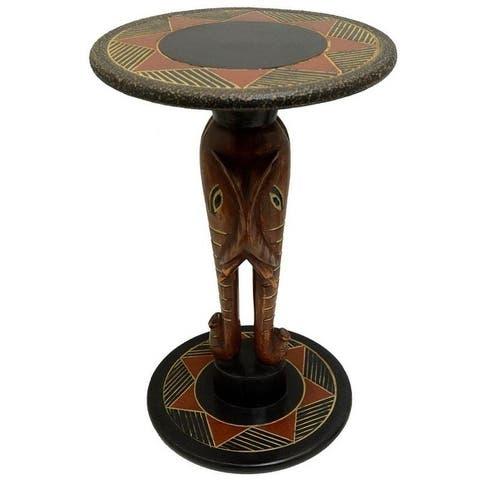 Handmade Pachyderm Arts Table (Ghana)