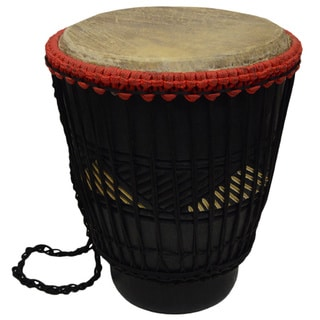Handmade Power Bongo Drum (Ghana)
