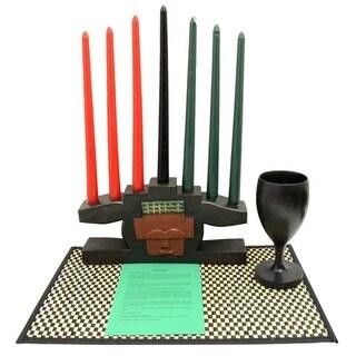 Handmade Kwanzaa Akuaba Celebration Set