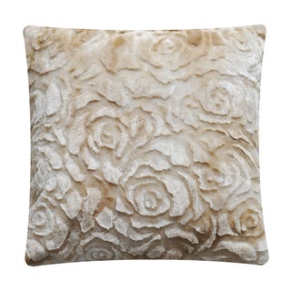 Anna Ricci Polyester 18-inch Luxury Plush Throw Pillow