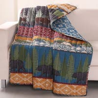Greenland Home Fashions  Black Bear Lodge Throw