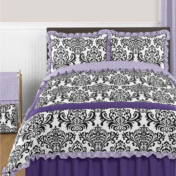 Sweet Jojo Designs Sloan 3-piece Full/ Queen-size Comforter Set