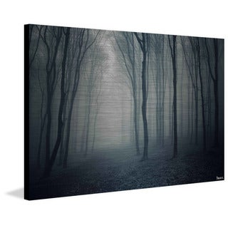 Parvez Taj - 'In the Shadows' Painting Print on Brushed Aluminum