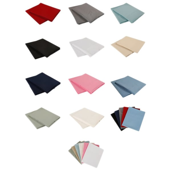 Affluence Premier 1500 Microfiber Pillowcases (Set of 2)