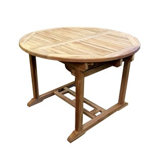 D-Art Teak Extendable Dining Table
