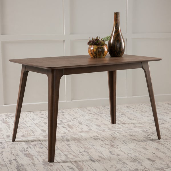 Gideon Wood Dining Table by Christopher Knight Home. Opens flyout.