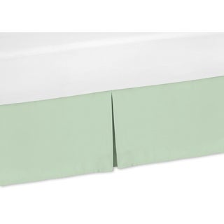 Sweet Jojo Designs Mod Arrow Collection Mint Green Bedskirt