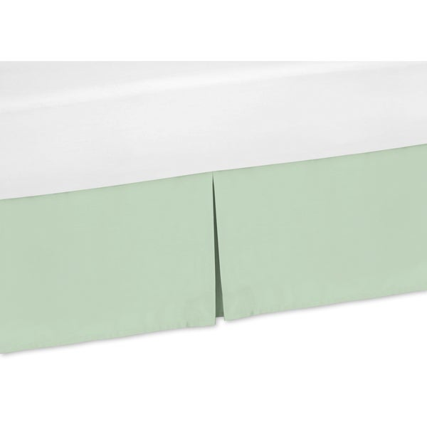 Sweet Jojo Designs Mod Arrow Collection Mint Green Bedskirt