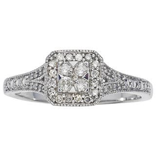 10k White Gold 1/4ct TDW Diamond Promise Ring by Ever One|https://ak1.ostkcdn.com/images/products/12917368/P19672027.jpg?impolicy=medium