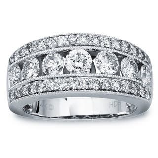 14k White Gold 2ct TDW Diamond Wedding Band by Ever One|https://ak1.ostkcdn.com/images/products/12917381/P19672036.jpg?impolicy=medium