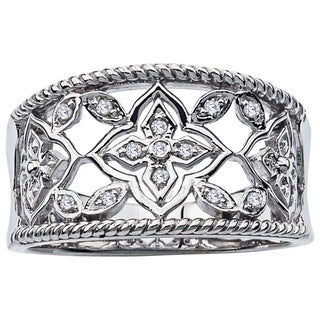 Sterling Silver Diamond Accent Band by Ever One|https://ak1.ostkcdn.com/images/products/12917430/P19672289.jpg?_ostk_perf_=percv&impolicy=medium