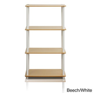 Furinno Multicolor 4-tier Multipurpose Shelf Display Rack