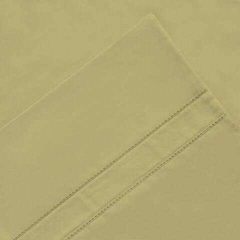 Pointehaven 620 Thread Count Long Staple Cotton Pillow Cases Pair