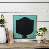 Blue Wood Chalk Board