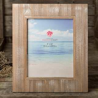 Distressed Wood Wide-border 8 x 10-inch Picture Frame