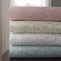 Inspirational Microfiber Print Sheet Sets