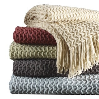 Link to Brielle Home Winding Wave Throw Similar Items in Blankets & Throws