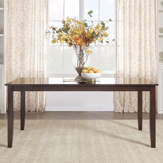 TRIBECCA HOME Pranzo Rectangular 72 Inch Extending Dining Table and Dining Set - Tapered Legs