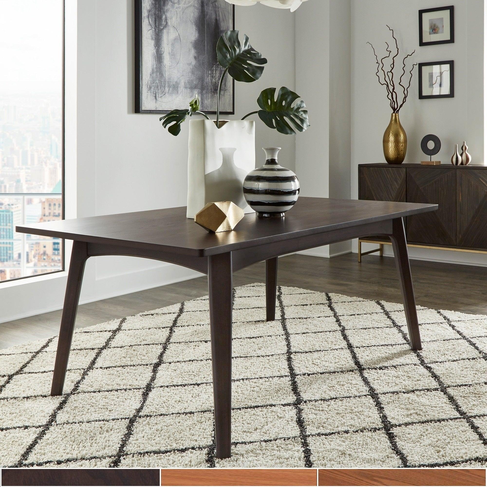Norwegian Mid Century Danish Modern Tapered Dining Table INSPIRE Q Modern