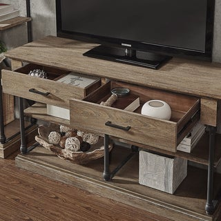 Barnstone Cornice Drawers Media TV Stand Console by SIGNAL HILLS