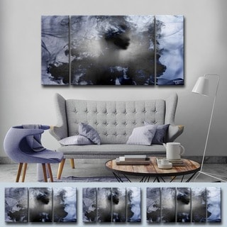 Ready2HangArt 'Glitzy Mist XII' by Tristan Scott Canvas Art Set