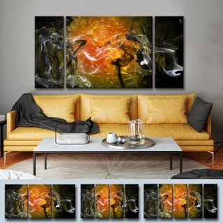 Ready2HangAr 'Glitzy Mist XXIII' by Tristan Scott Canvas Art Set