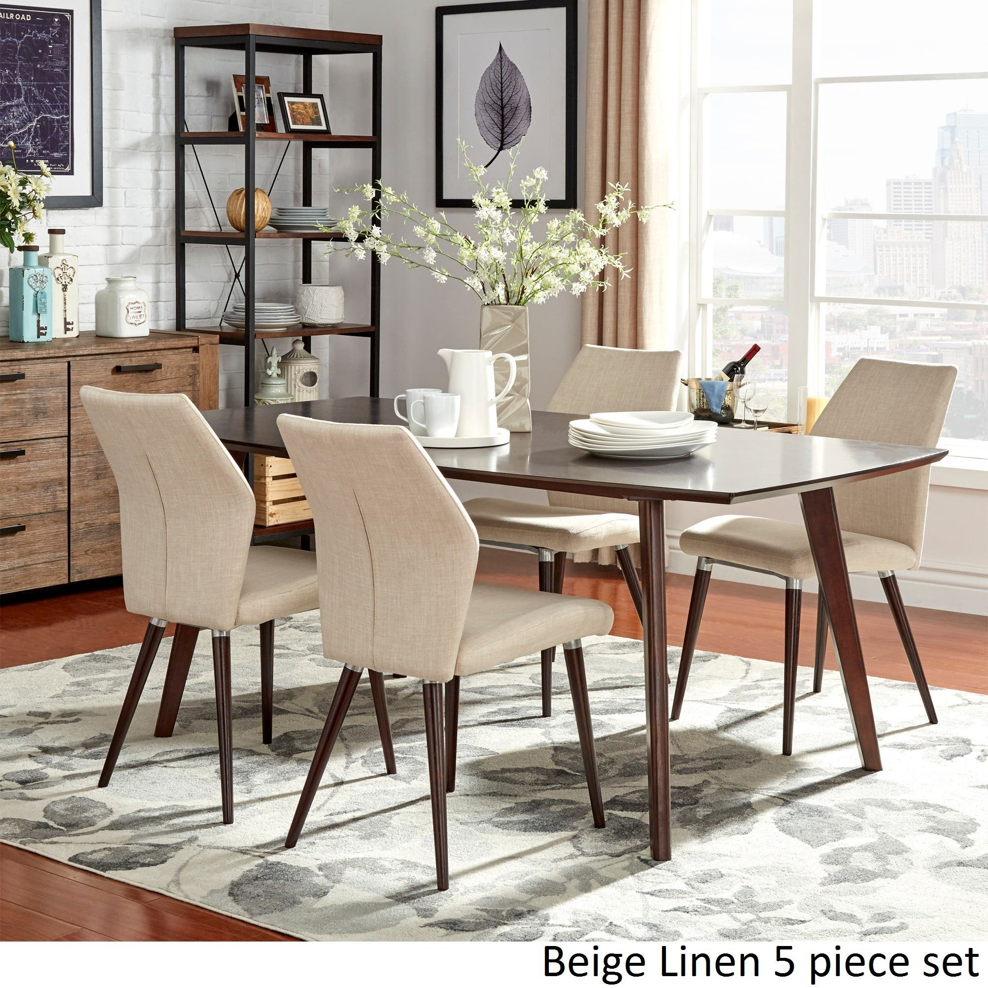 Kitchen dining room sets for less for Living room furniture 0 finance