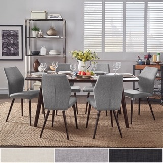 Abelone Scandinavian Espresso Dining Set by MID-CENTURY LIVING