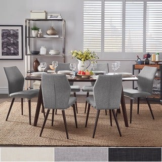 Abelone Scandinavian Espresso Dining Set iNSPIRE Q Modern (More options available)