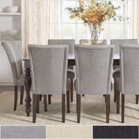 Pranzo Rectangular 72-inch Extending Dining Table and Set with Baluster Legs by iNSPIRE Q Classic
