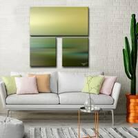 Ready2HangArt  'Blur Stripes LXVIII' by Tristan Scott Canvas Art Set